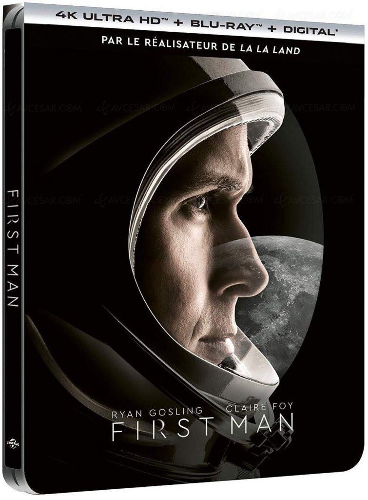 Ryan Gosling Daily Page » First Man DVD, BLU-RAY, 4K Ultra HD